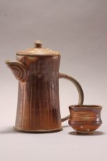 coffee server & cup