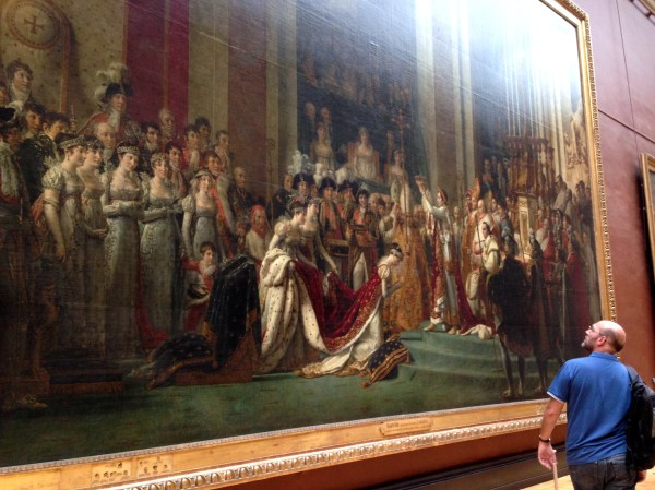 Famous Napoleon Paintings at Louvre