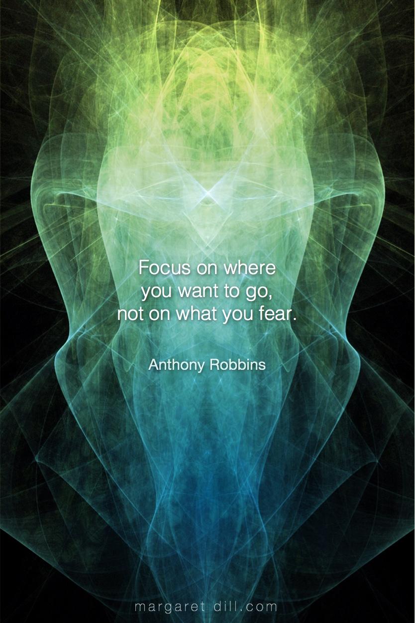 Focus on where - Anthony Robbins #Wisdom  #MotivationalQuote  #Inspirational Quote  #TonyRobbin  #LifeQuotes  #LeadershipQuotes #PositiveQuotes  #SuccessQuotes