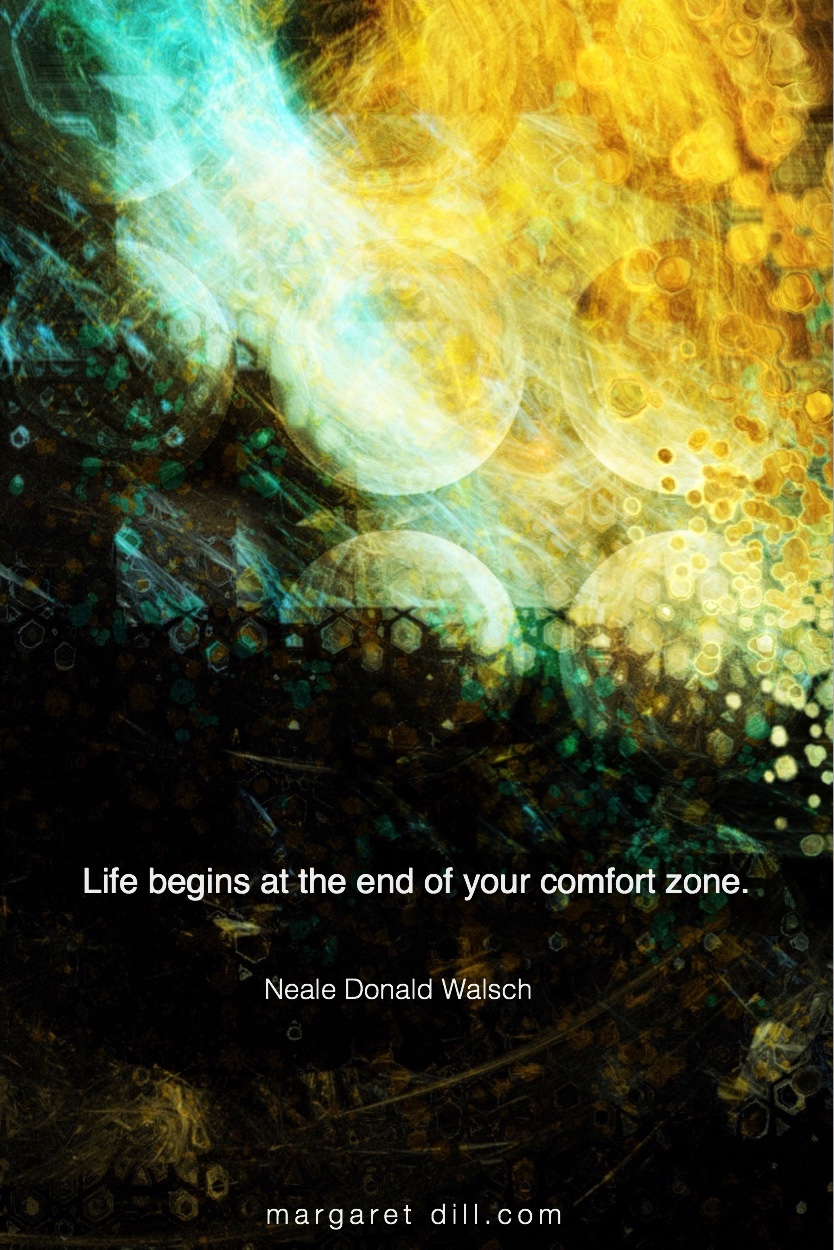 Life begins - Neale Donald Walsch  #NealeDonaldWalsch #Wisdom  #MotivationalQuote  #Inspirational Quote   #LifeQuotes  #LeadershipQuotes #PositiveQuotes  #SuccessQuotes