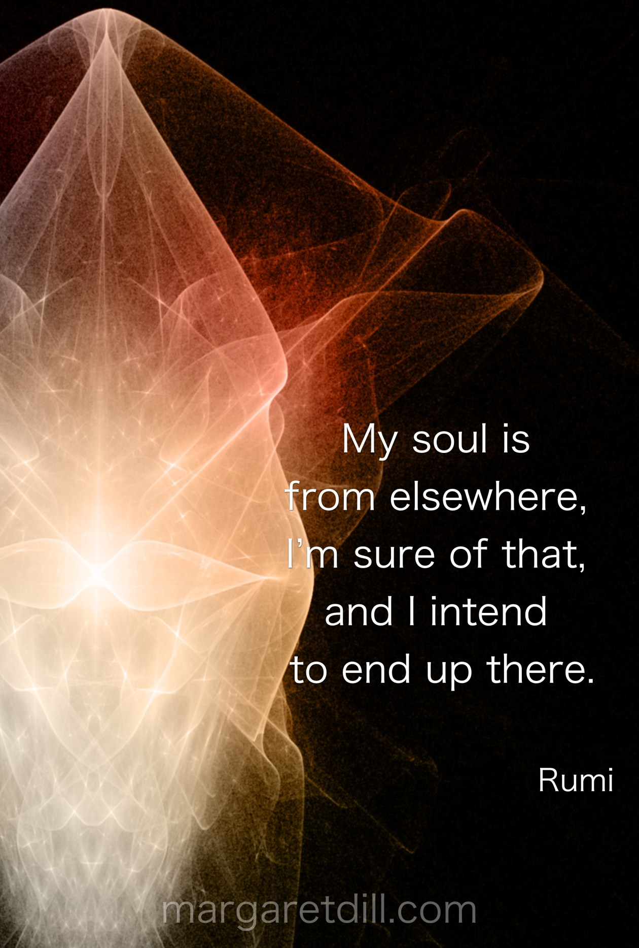 My soul is from elsewhere-rumi quote #wordstoliveby #mindfulness #meditation #Spiritualawakening #wordsofwisdom #quotations #rumi #rumiquotes