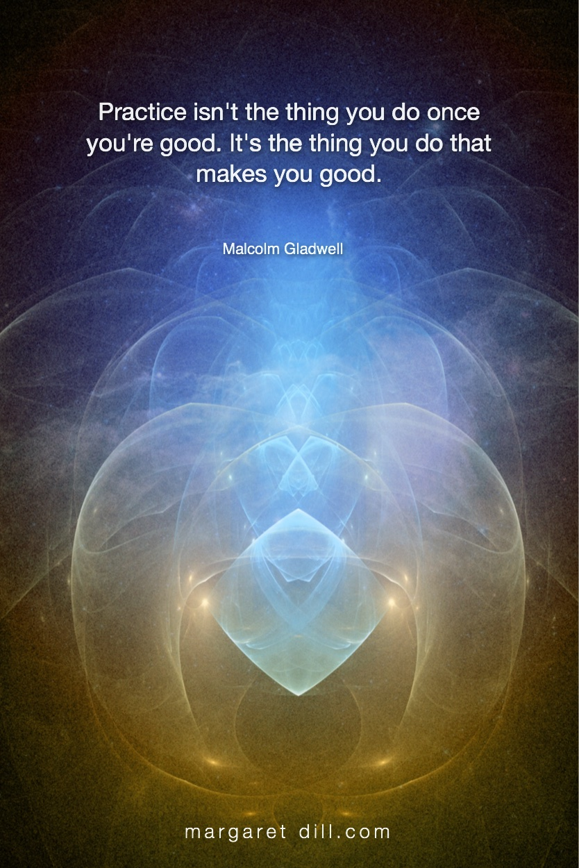 Practice isn't - Malcom Gladwell  #MotivationalQuote  #Inspirational Quote  #MalcolmGladwell  #LifeQuotes  #LeadershipQuotes #PositiveQuotes  #SuccessQuotes