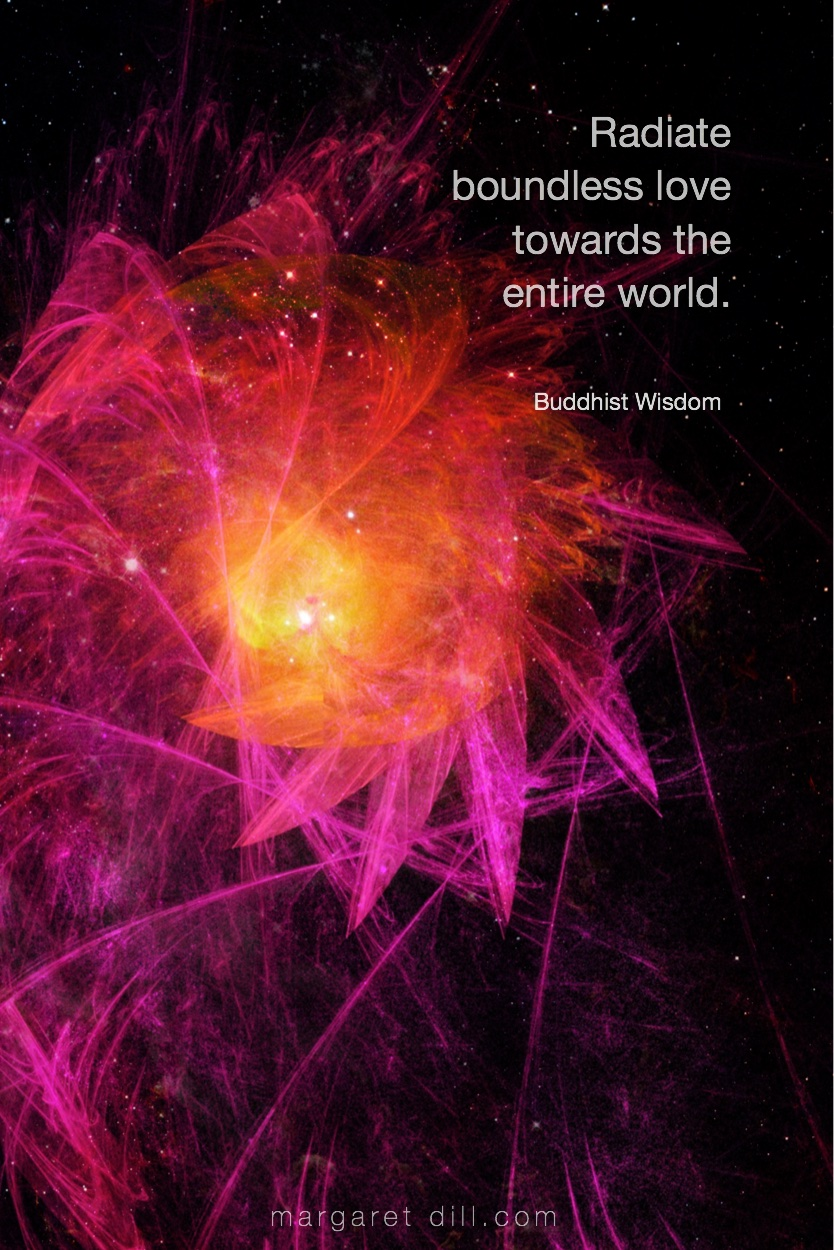 Radiate boundless love Buddhist Wisdom Buddha #wordsofwisdom  #Buddhiswisdom  #wordstoliveby #mindfulness #meditation #Spiritualawakening #quotations #BuddhistQuote