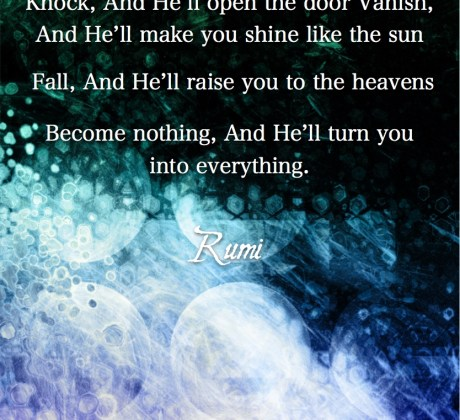 Become Nothing-Rumi Quote-#Rumiquote #wordsofwisdom #MotivationalQuote #InspirationalQuote #LifeQuotes #PositiveQuotes #WordsoflifeQuotes