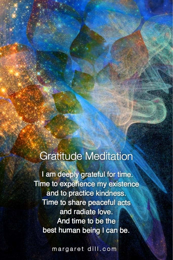 Thankful for Time. Gratitude Meditation #gratitude #meditation #thankful #positive
