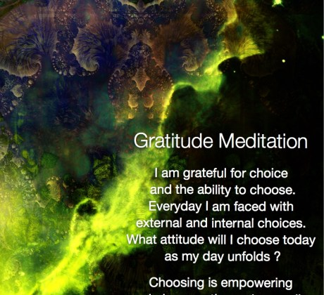 Gratitude Meditation Thankful for Choice #gratitude #meditation #thankful #positive