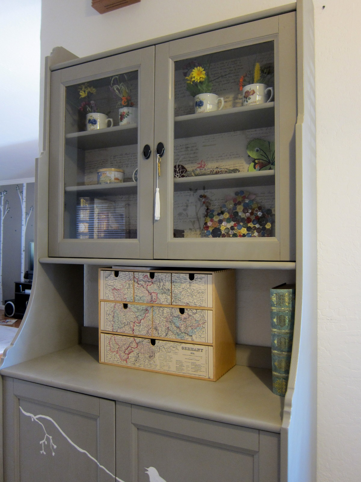 kitchen hutch cabinet chicago hotels with full a for the nook  margarete miller