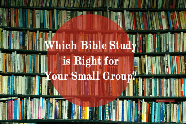 Which Bible study is Right for Your Small Group?