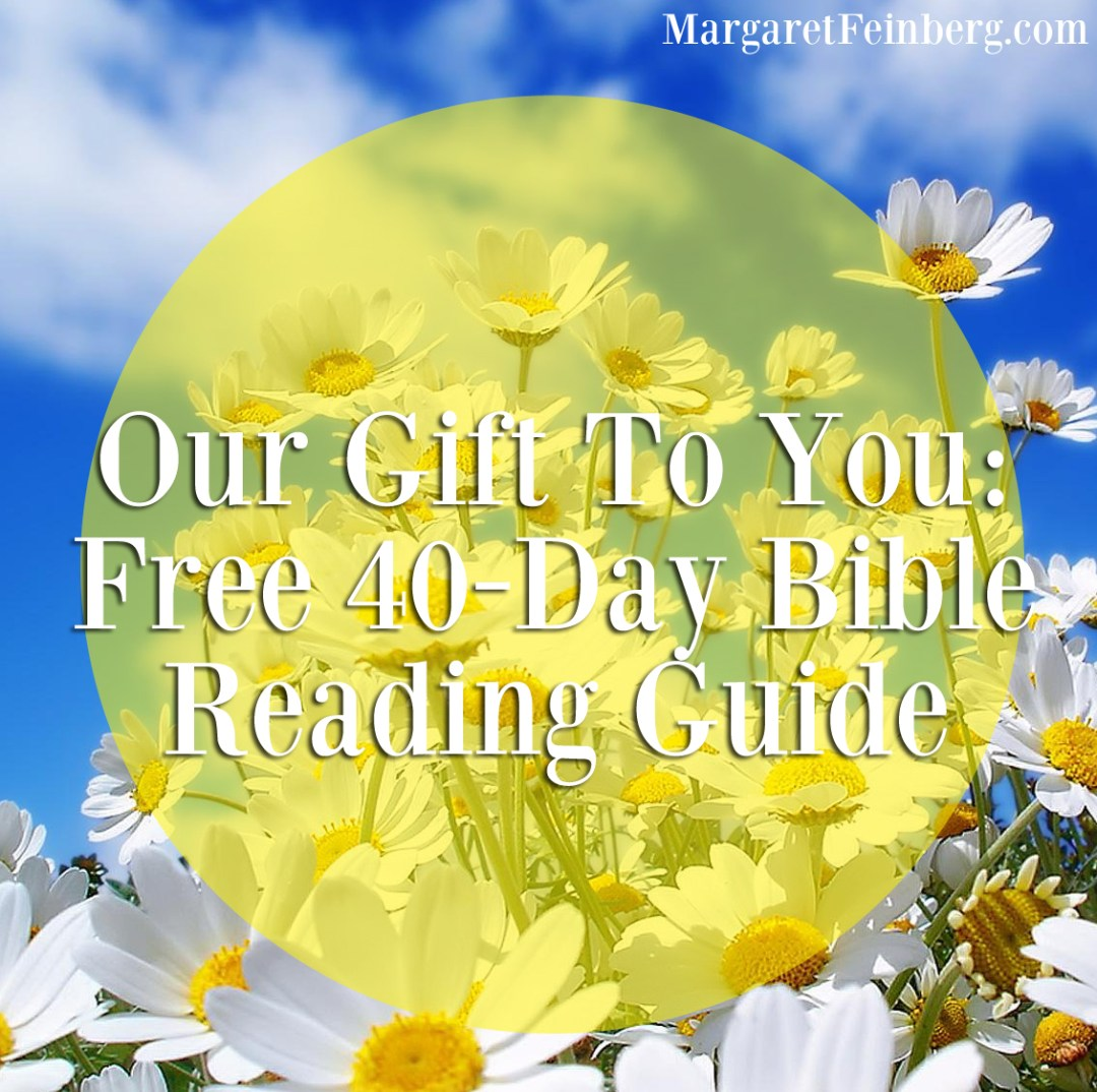 Our Gift To You: FREE Reading Plan For The 40-Day Bible Reading Challenge
