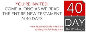 #LentChallenge: Read the New Testament in 40 Days