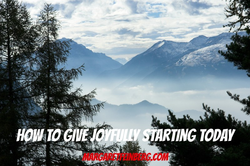 Here's a Story That'll Stay with You Today: How to Give Joyfully (Plus a Giveaway)