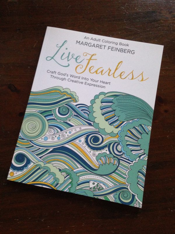 Live Fearless: An Adult Christian Coloring Book
