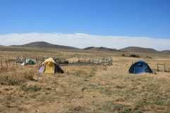 One of the Patagonian camps.