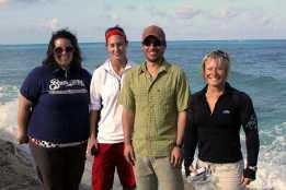 Stacie, Danielle, Quintin, Zelenda.