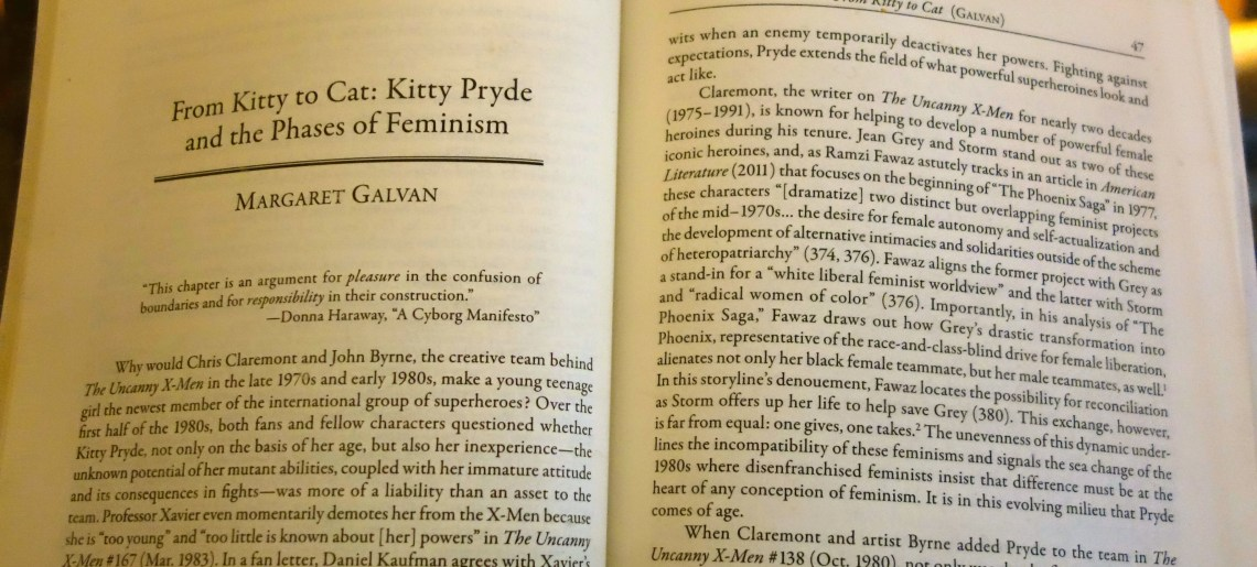 Article: From Kitty to Cat: Kitty Pryde and the Phases of Feminism