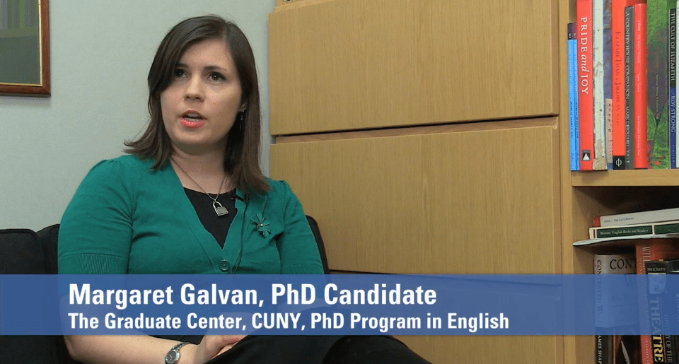 Video: Promotional Video for the English Program (The Graduate Center, CUNY)