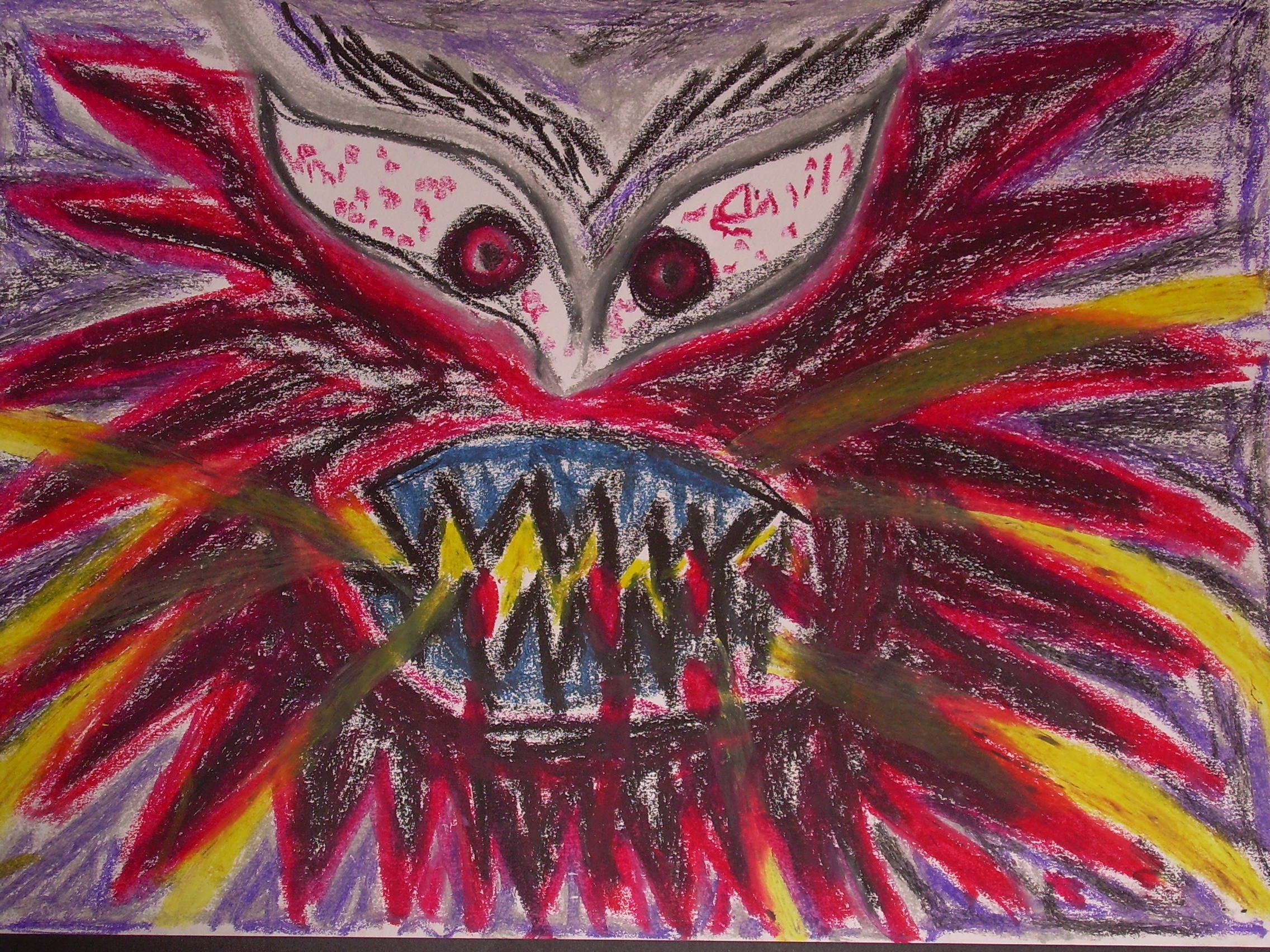Art Therapy Drawing Anger