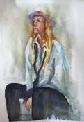Ellie For Sale Watercolor  Half Sheet