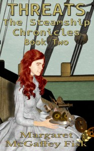 Threats (The Steamship Chronicles, Book 2) eBook Cover