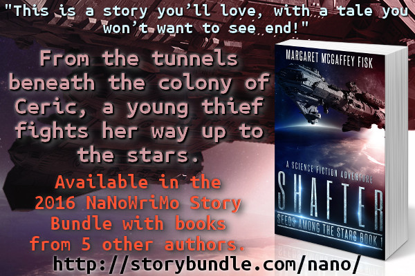 Shafter is in the 2016 NaNo StoryBundle