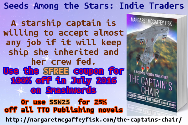 The Captain's Chair FREE in July 2016
