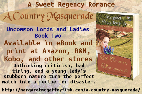 A Country Masquerade by Margaret McGaffey Fisk