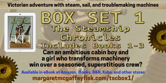 Box Set 1 The Steamship Chronicles