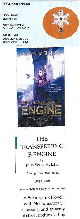 B Cubed Press and The Transference Engine