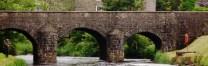 The bridge at Bushmills, Northern Ireland