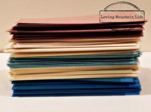 Memory Jar Paper