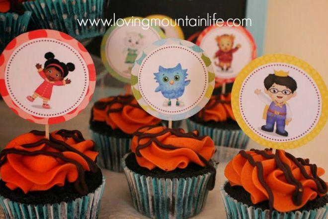 how to make daniel tiger cupcakes