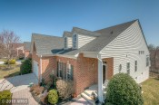Pretty house with no outside maintenance. - 8605 Snowreath Rd Brick Front single family property in condo community.