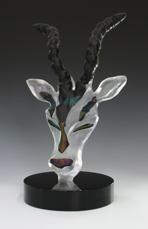 Glass and Metal Sculpture
