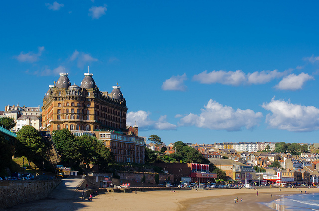 Scarborough North Yorkshire (Grand Hotel overlooking South Bay)