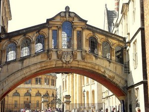 Oxford Bridge of Sighs by Joanna Penn