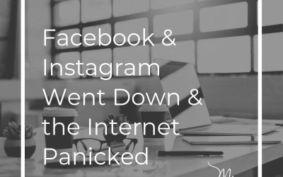 Facebook and Instagram Went Down and the Internet Panicked