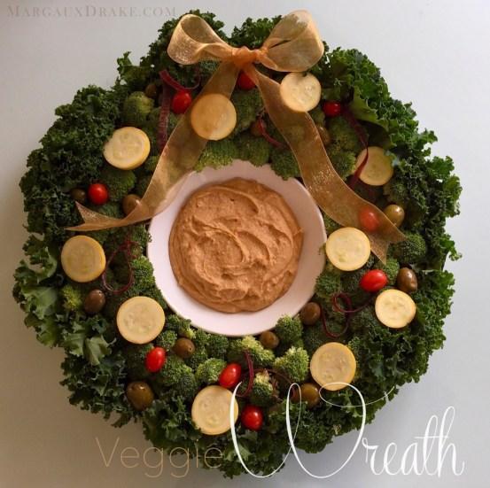 Veggie Wreath-Margaux Drake