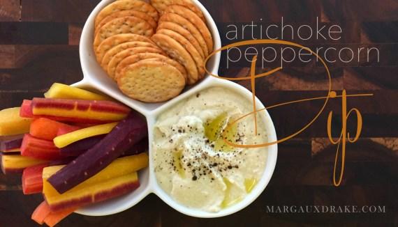 Artichoke peppercorn dip margauxdrake