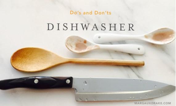 Dishwasher dos and don'ts-Margaux Drake