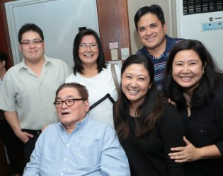 Dr. Eduardo Jamora, Makati Medical Center at Union Church of Manila for Ephraim Salcedo Memorial Service