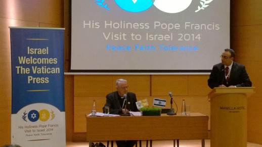Press briefing with Vatican Press Secretary Father Federico Lombardi, SJ.