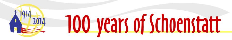 Schoenstatt 2014 header