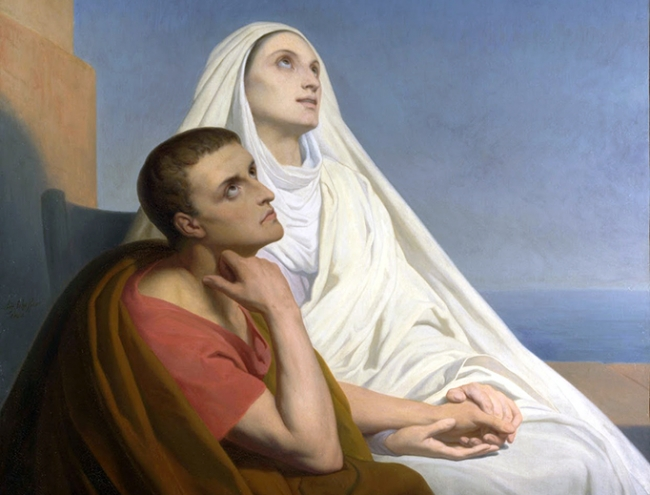 St. Monica, Motherhood