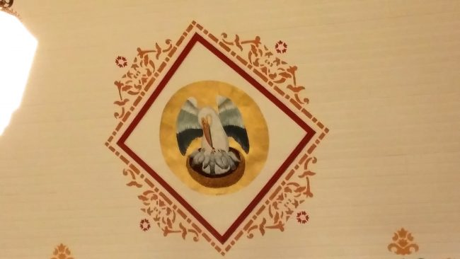Marian Pilgrimage, Marge Fenelon, Painted Churches of Texas, Stenciling