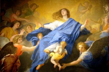 Blessed Virgin Mary, Assumption of Mary, Catholic Church, Marge Fenelon