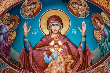 Solemnity of Mary Mother of God, Catholic Churh, Liturgical Year, New Year, Marge Fenelonc