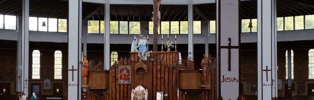 Marian Pilgrimage: Shrine of Our Lady of the Martyrs, Auriesville, NY