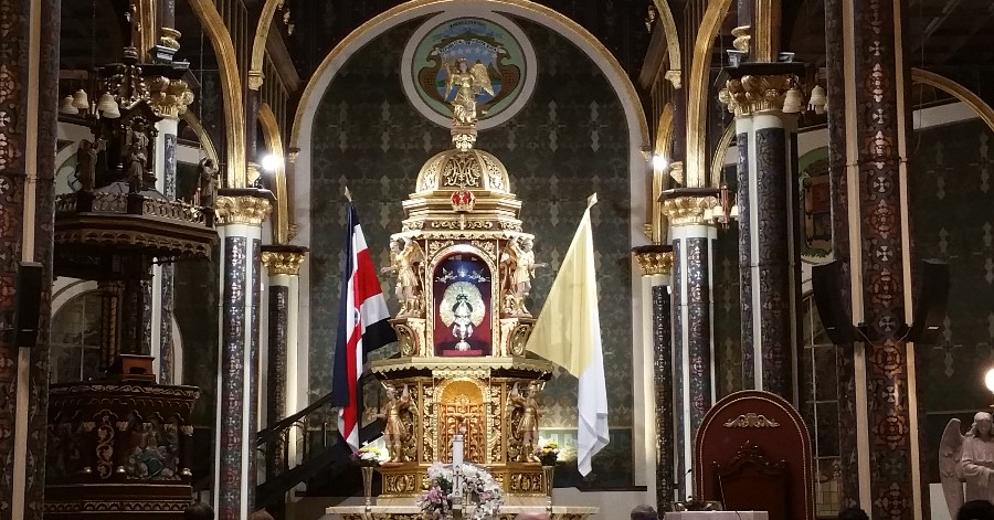 Costa Rica, Blessed Virgin Mary, Our Lady of the Angels