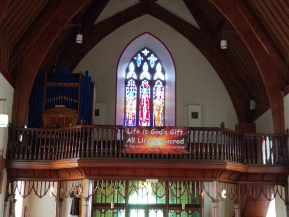 Choir loft, St. Mary's Catholic Church, Headford, Ireland