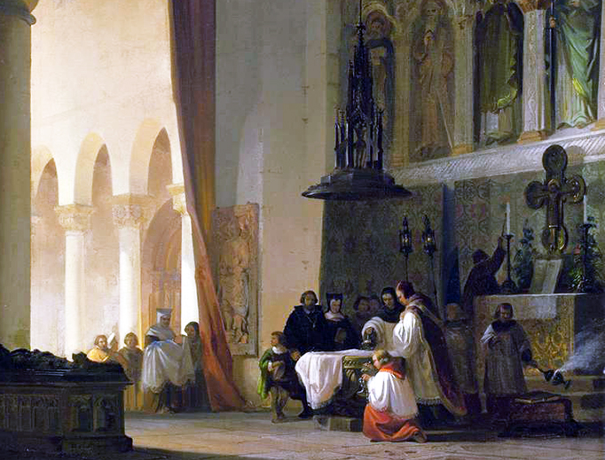 Baptism in the Basilica